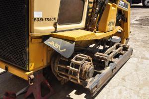 ASV Posi-Track 4810 Skid Steer Loader Track Work – Long